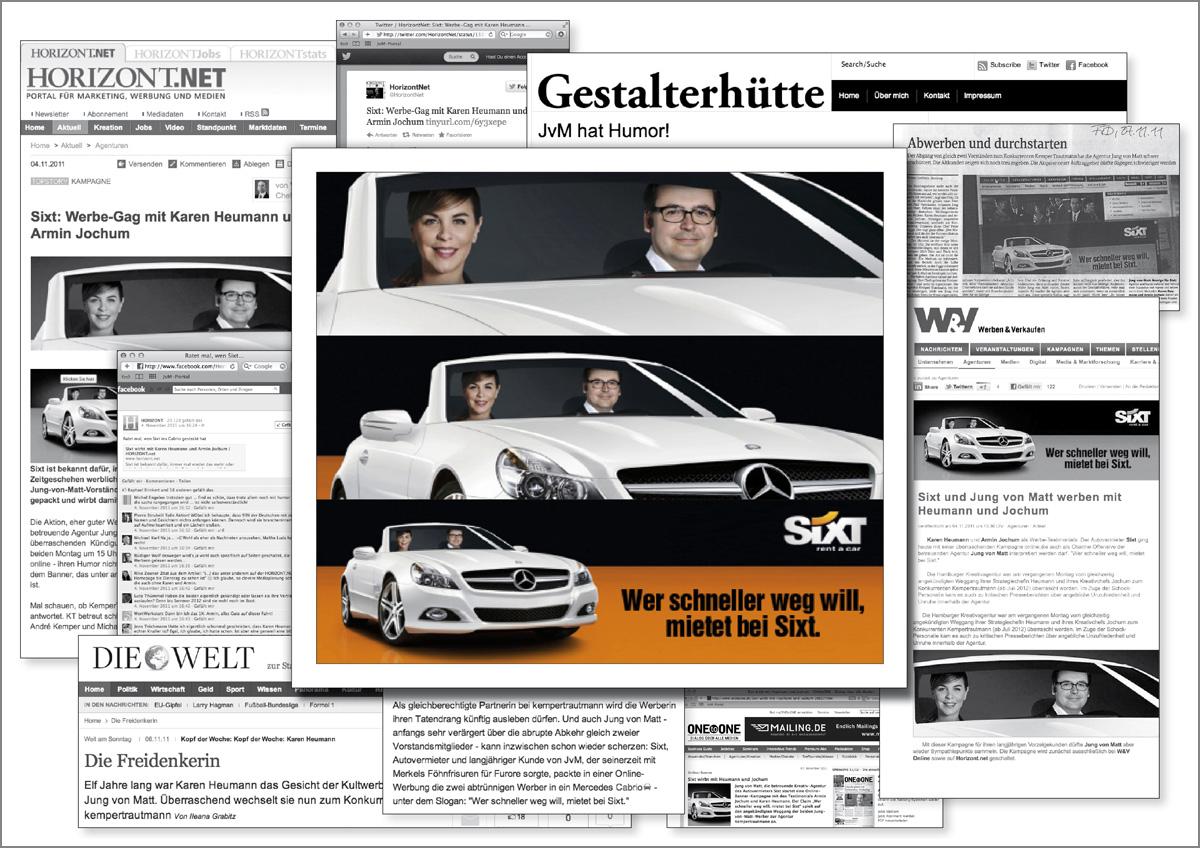 Collage_Sixt_Abschiedsbanner